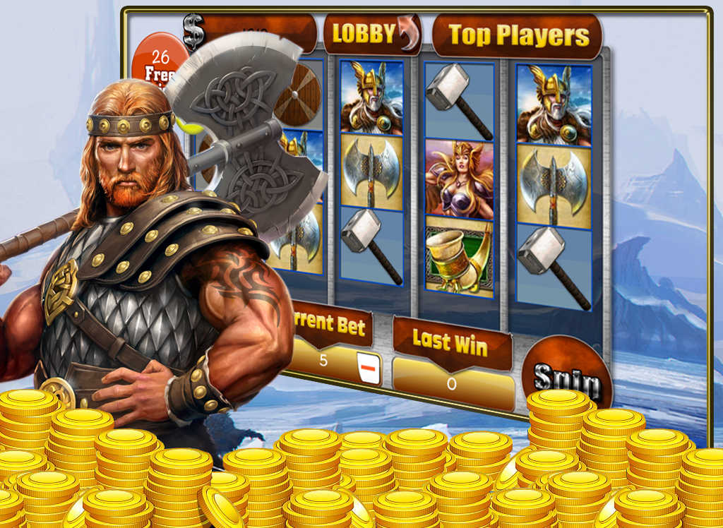 Vikings Treasure™ Slot Machine Game to Play Free in NetEnts Online Casinos