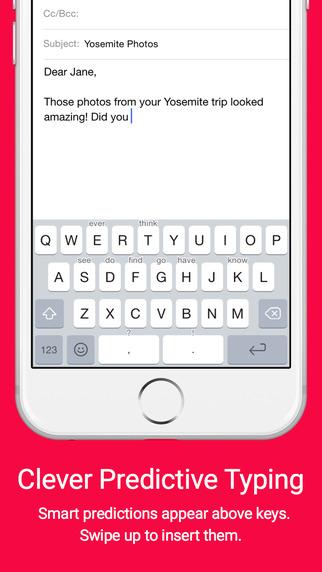 Crimson Keyboard + Emoji