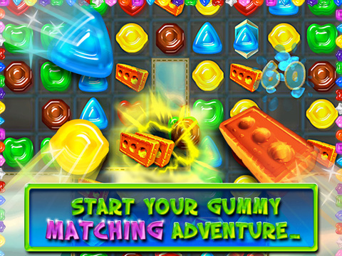 Gummy drop best free candy match 3 puzzle game by big for Big fish games inc