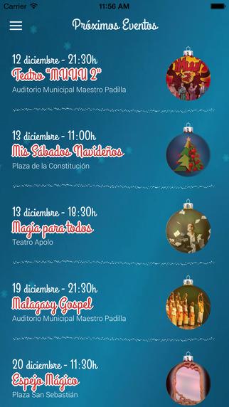 Programa Navidad Almería 2014 2015