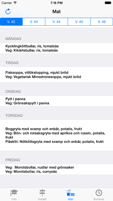 BorgarAppen iPhone Screenshot 2