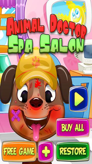 Animal Doctor Spa Salon - Fun Free Pet Games for Girls Boys