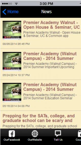 Premier Academy Walnut