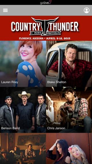 Country Thunder Fest App