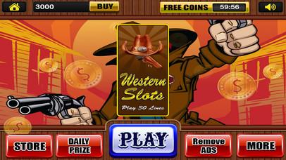 Screenshot 3 Шесть оружие Слоты в Западной Фортуны Благодаря казино Турниры Pro