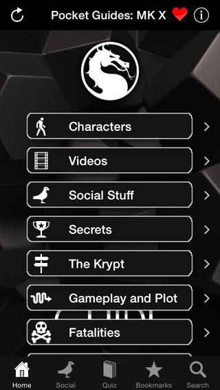 Pocket Guides: Mortal Kombat X