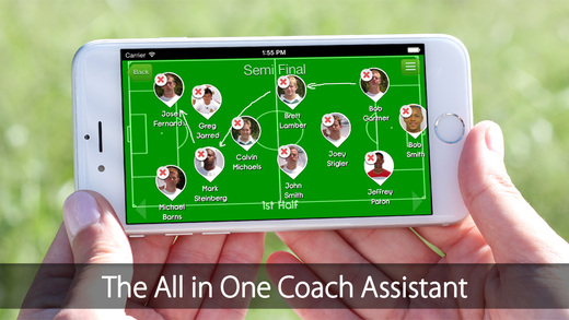 iGrade for Soccer Coach Player's management with Roster Game and Practice Schedule Performance Track