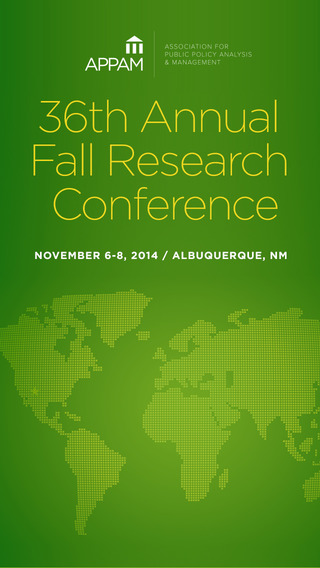 APPAM 2014 Fall Research Conference