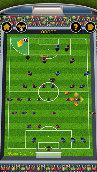 Drop Kick Soccer Game
