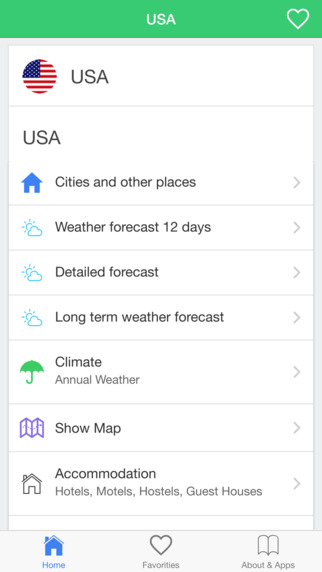 United States Weather forecast conditions for today long term. Climate in USA
