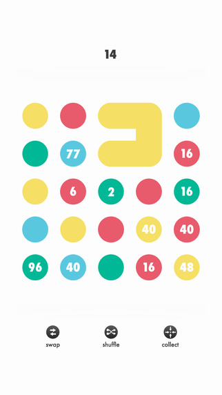 Number Circles - Longest Chain Connection Game