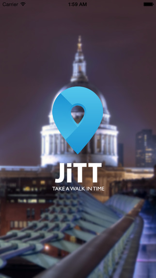 London JiTT Audiostadtführer Tourenplaner mit Offline-Karten