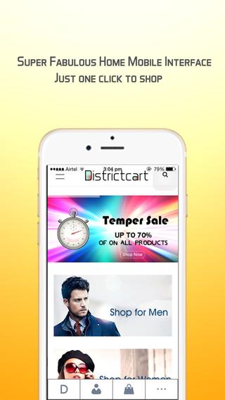 Districtcart - Fashion Shopping App