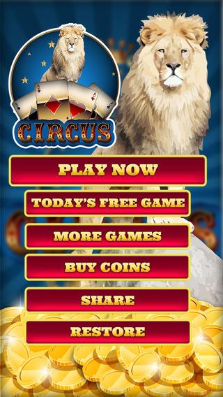 Twisted Circus Video Poker - Play Jacks Or Better Las Vegas and Atlantic City Casino Gambling Game f