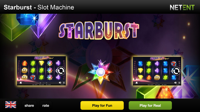 Starburst slot machine 2015 - slot casino games from NetEnt rolls with diamonds and ruby