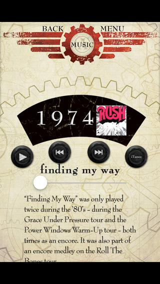 Rush iPhone Screenshot 1