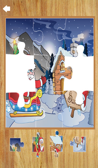 Christmas Games 3 in 1- Match Puzzle Jigsaw Puzzle and Drawing Pad
