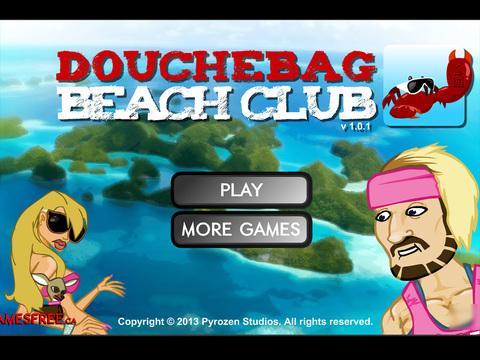 douchebag beach club cheats codes