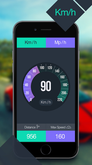 Speed Tracker GPS Speedometer