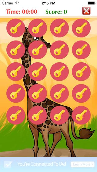 Giraffe Cartoon Puzzle