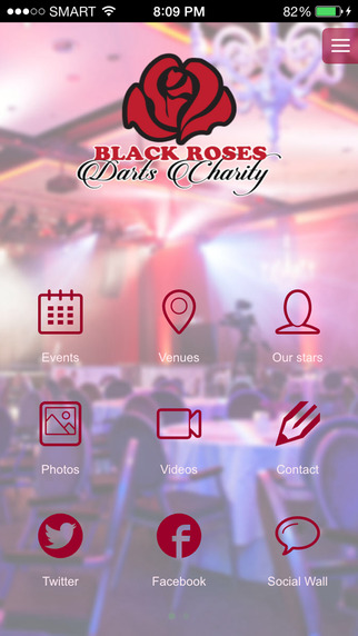 Black Roses Darts Charity