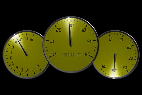 0 to 60 Speedo Clock screenshot 1