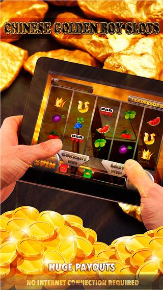 Chinese Golden Boy Slots 2 - FREE Slot Game Casino Vegas