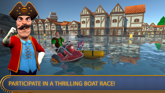 Mini Boat Chase 3D Deluxe