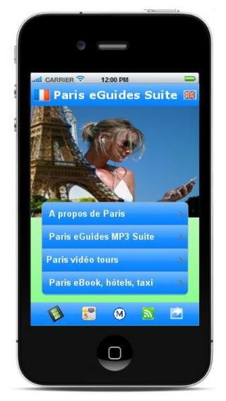 Paris eGuides - Guide de Paris en MP3 et vidéos plans aide...