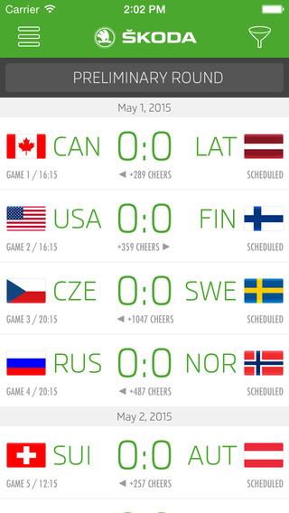 2015 IIHF powered by ŠKODA