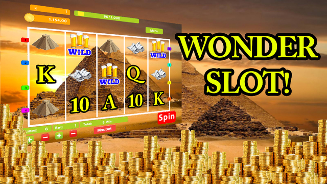 World Monument Wonder Slot - Bonus Jackpot Wizard Free Play Vegas Casino Fruit Machine