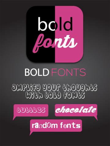 玩攝影App|After Bold Fonts - text messsage editor HD免費|APP試玩