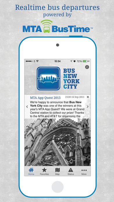 Bus New York City iPhone Screenshot 2