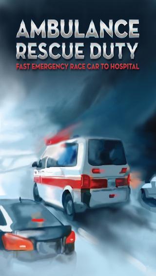 Ambulance Rescue Duty - Fast Emergency Car Race To Hospital