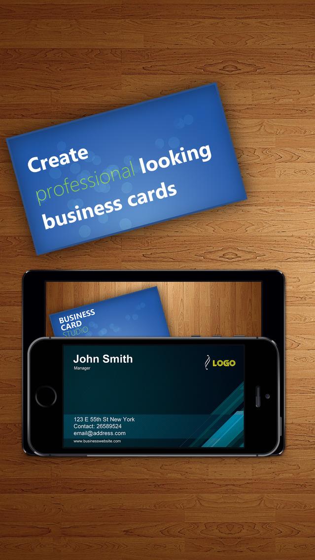Business Card Studio Designer Graphic Creator Editor