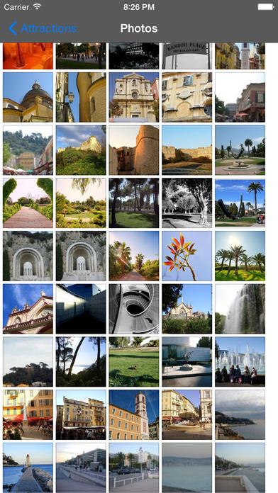 Nice Travel Guide Offline iPhone Screenshot 1