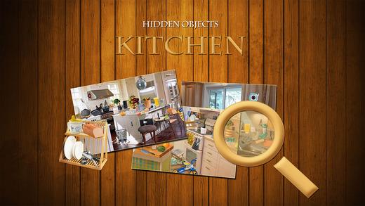 Hidden Object Kitchen Game