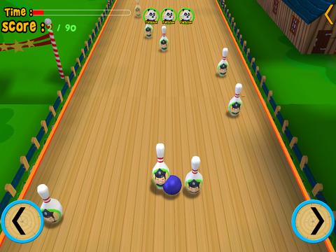 jungle animals bowling for kids vip iPad Screenshot 4
