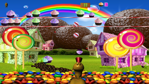 Candy Chipmunk : Fun Of Sweet In The Village
