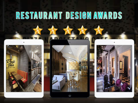 restaurant interior design ideas for ipad by khon ha