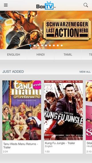 BoxTV – Free Bollywood Movies Hollywood TV Shows