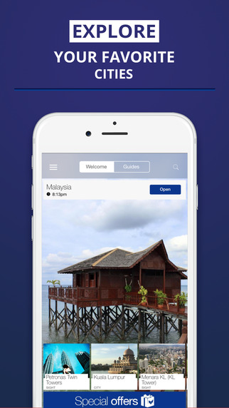 Malaysia - your travel guide with offline maps from tripwolf guide for sights tours and hotels in Ku