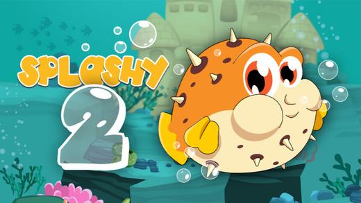Splashy 2 - Funny Sea Bubble Pool Fish HD