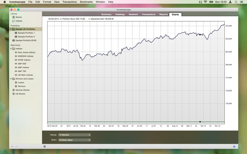 Investoscope Screenshot - 5