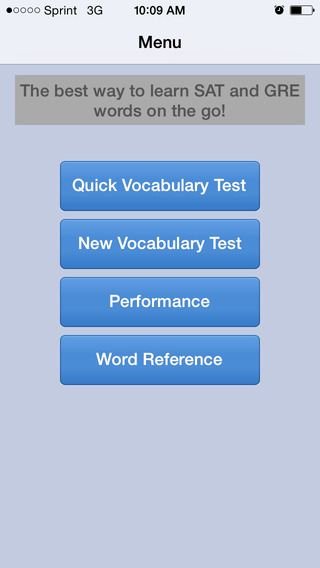 Vocab Builder SAT-GRE