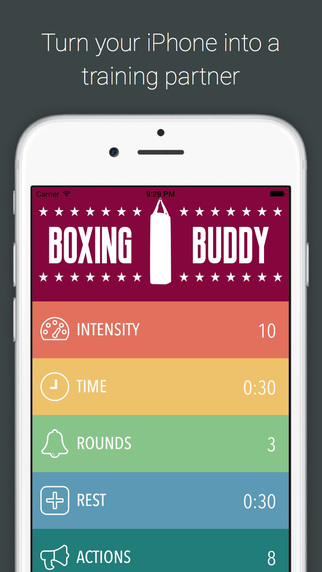 Boxing Buddy - The ringside audio training partner in your pocket