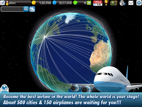 Screenshot #2 for AirTycoon Online 2.
