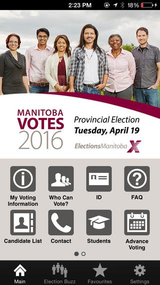 Manitoba Provincial General Election - Manitoba Votes 2016