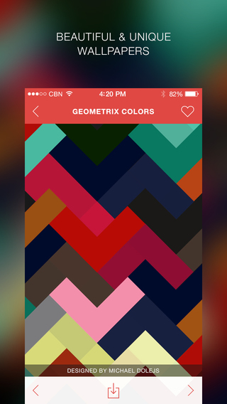 Wallpapr - Awesome Wallpapers for iPhone