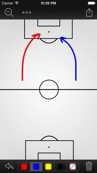 InfiniteSoccer Whiteboard : Soccer Whiteboard and Clipboard App for Coaches